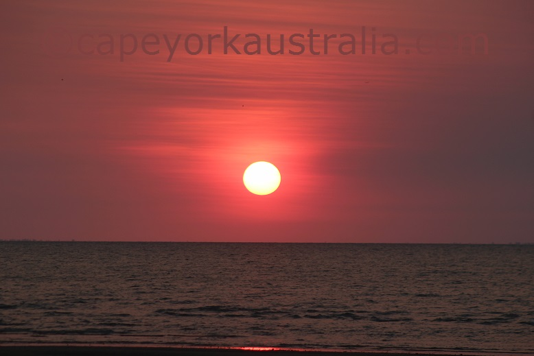 weipa sunset albatross