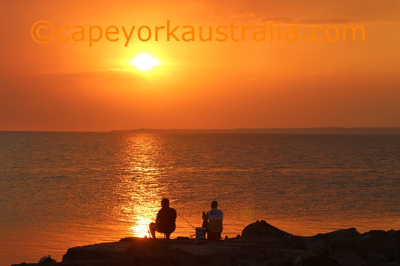 weipa sunset rocky point