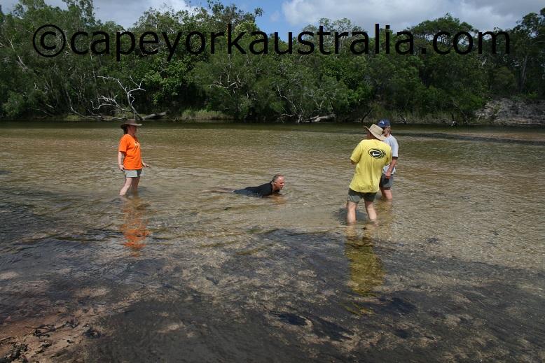 jardine river swim