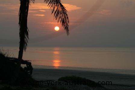 nathau beach sunrise