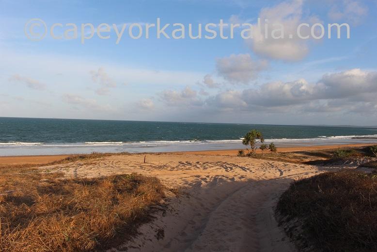 ussher point beach