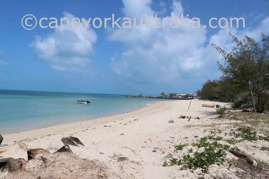 yam island beach