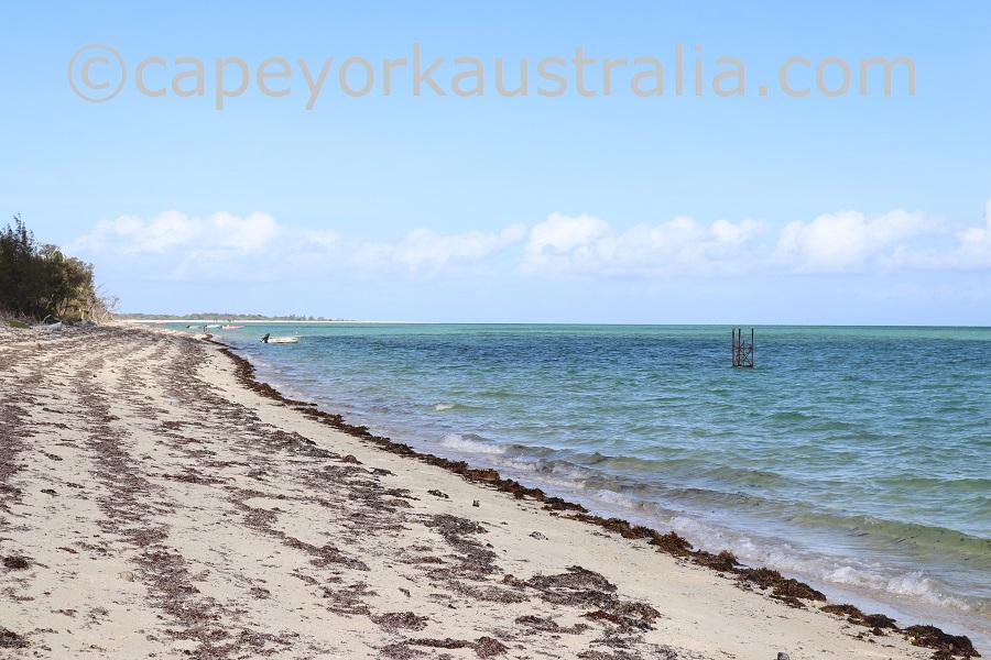 yorke island south west beach