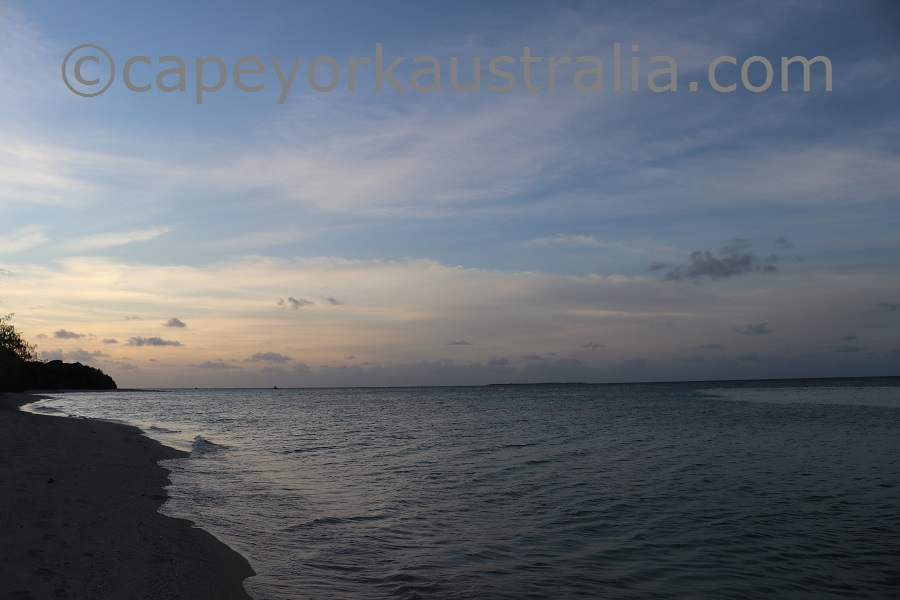 yorke island sunset